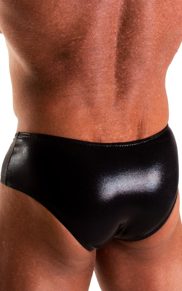 NEW Classic Physique Posing Trunks in Mystique Black 6