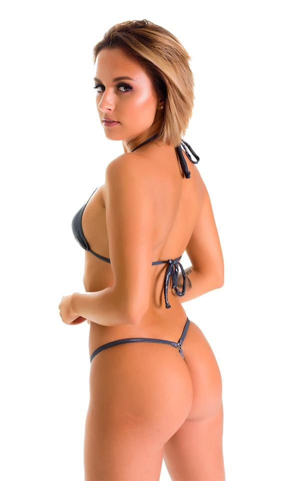 G String Bikini in Black Ice 2