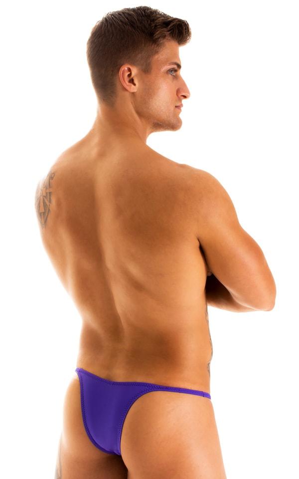 Sunseeker Micro Pouch Half Back Bikini in Indaco 1