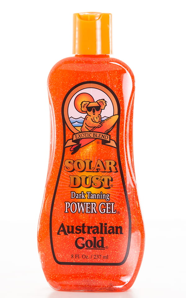 Australian Gold Dark Tanning Solar Dust Bottle