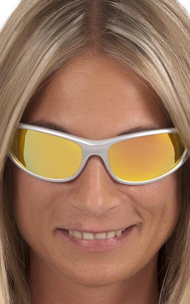 e7a43b8294 Peppers Floating Polarized Sunglasses Backlash Orange Bronze Mirror Silver  Frames