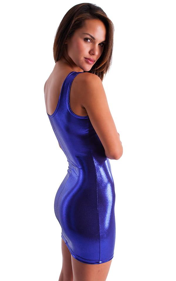 Sexy purple mini dress