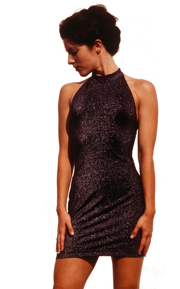 Halter Mini Dress 3