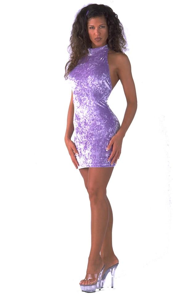 Halter Mini Dress 1