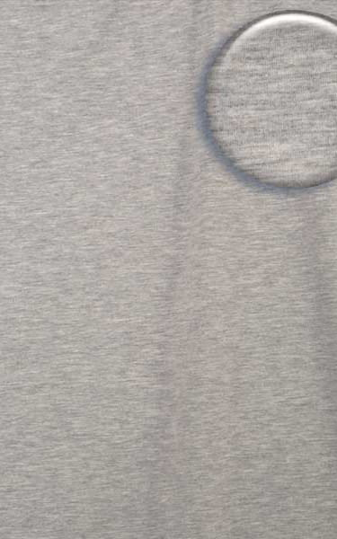 Womens Sport Top in Heather Grey Cotton-Spandex 10oz Fabric