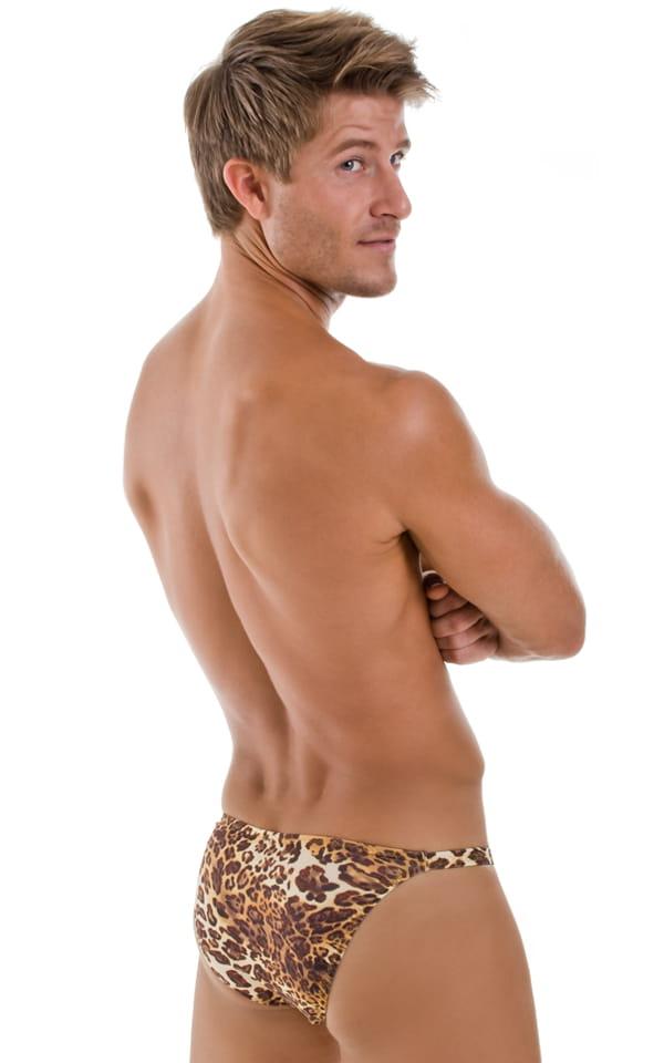 Smooth Front Bikini Bathing Suit in Jungle Kat Animal Print 3