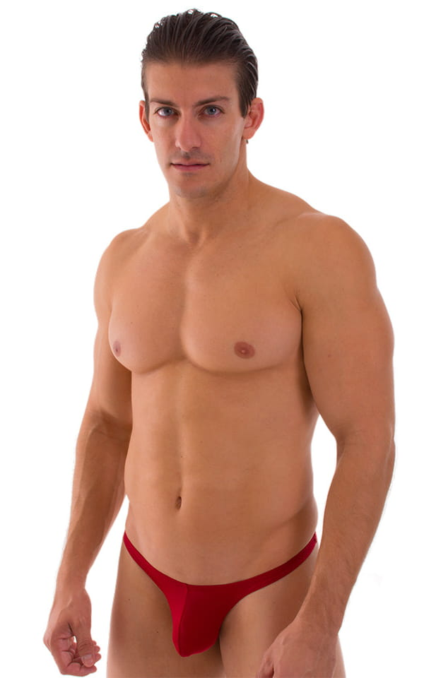 Mens-Swimsuit-Thong-(Low-Profile) Front