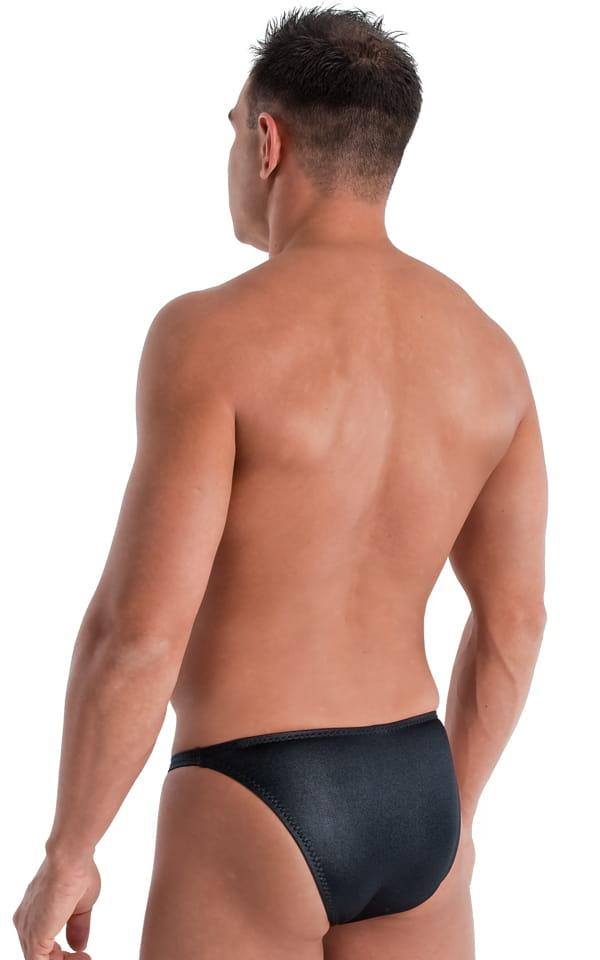 Mens Seamless Swim Trunks Brief Bikini Bathing Suit
