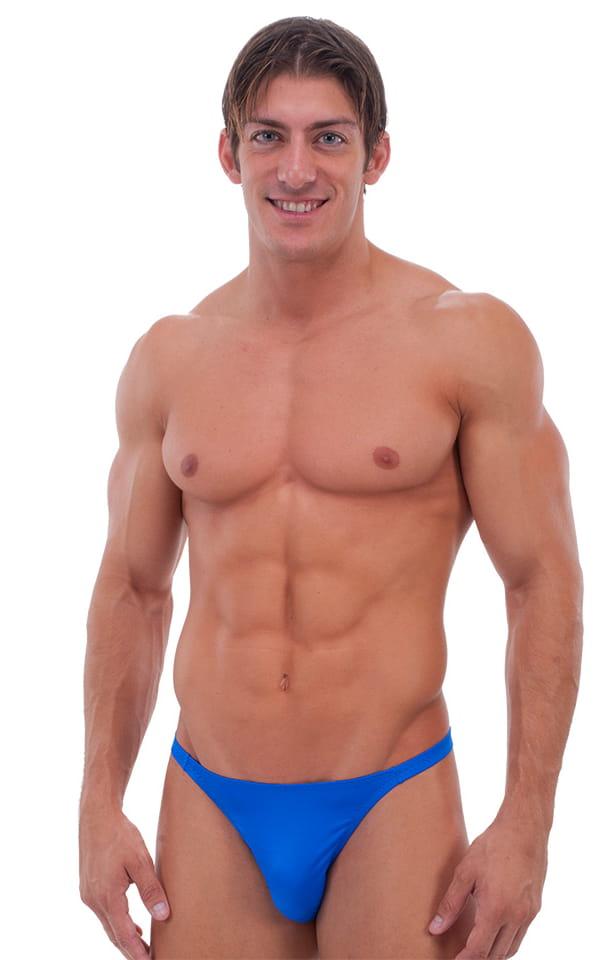 Smooth Front Bikini in Royal Blue 4