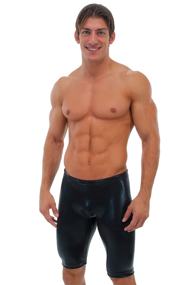 Competition Swim-Dive Jammers in Mystique Black on Black 1