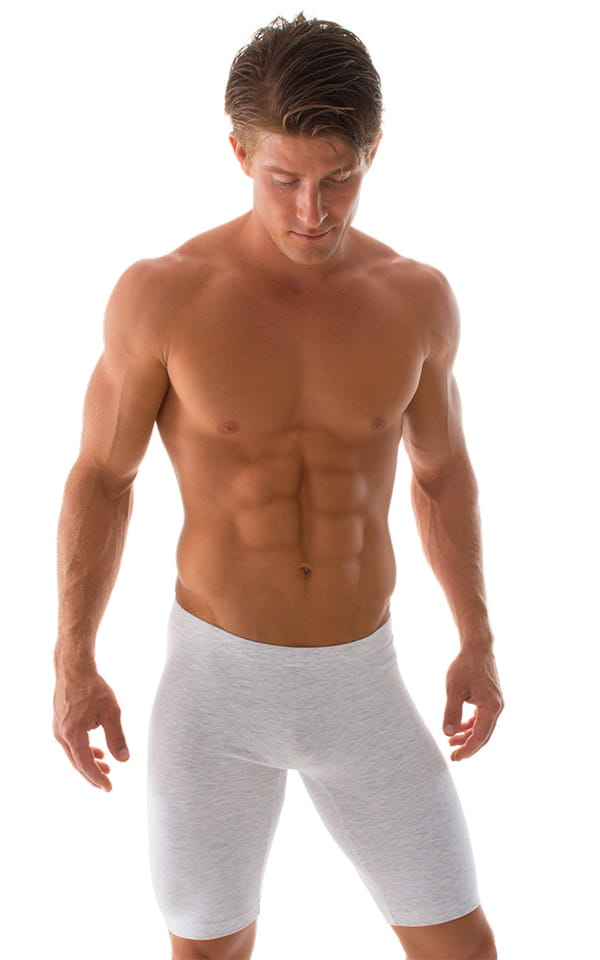 mens compression lycra jammer shorts