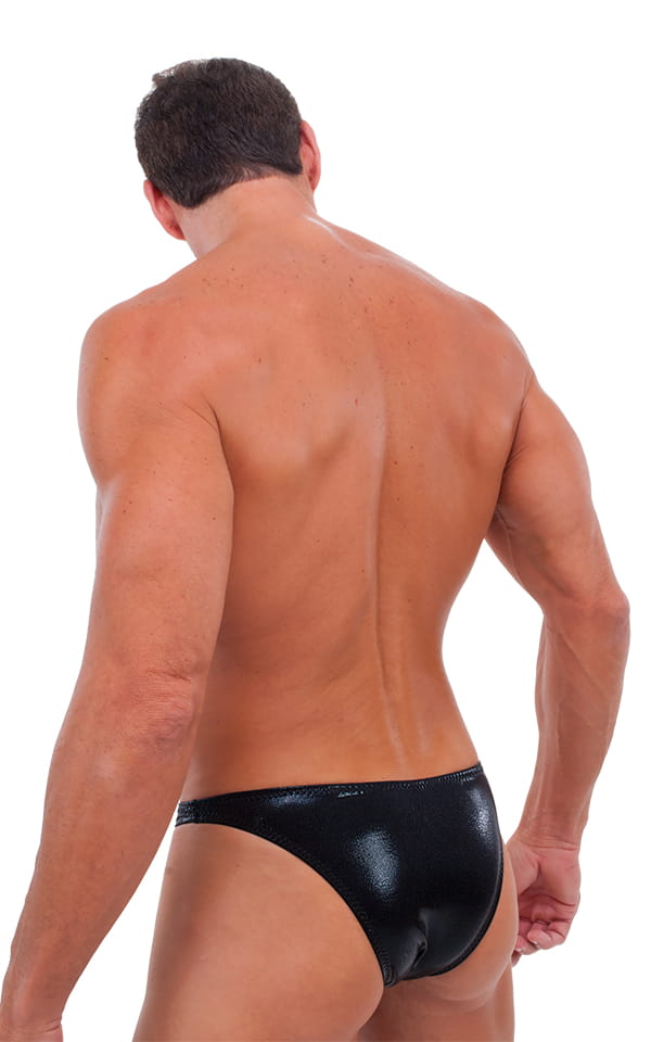 Exotic Dancer - Pouch Enhanced - Pistol Bikini in Mystique Black-Black 3