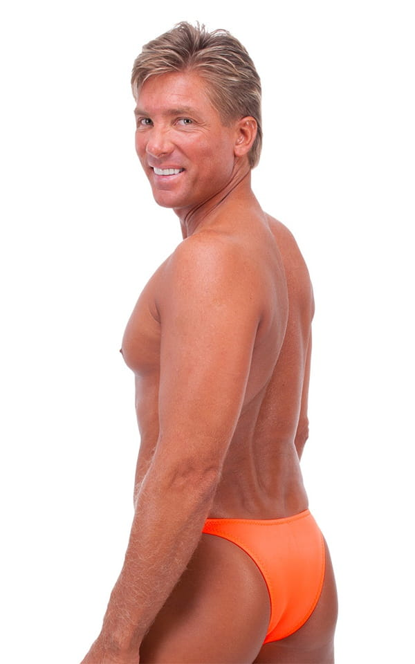Rio Tanning Bikini Swimsuit in Neon Orange 3
