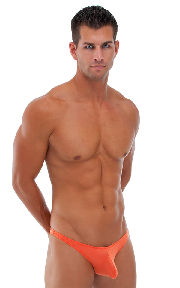 Pistol Pouch Rio swimsuit in Semi Sheer ThinSKINZ Apricot 1