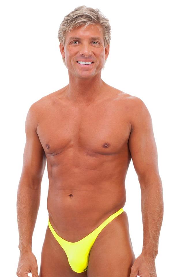Rio Tanning Bikini Swimsuit in Chartreuse   Skinzwear.com