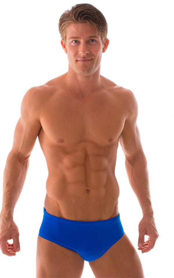 Swim-Dive Competition Brief in Royal Blue 1