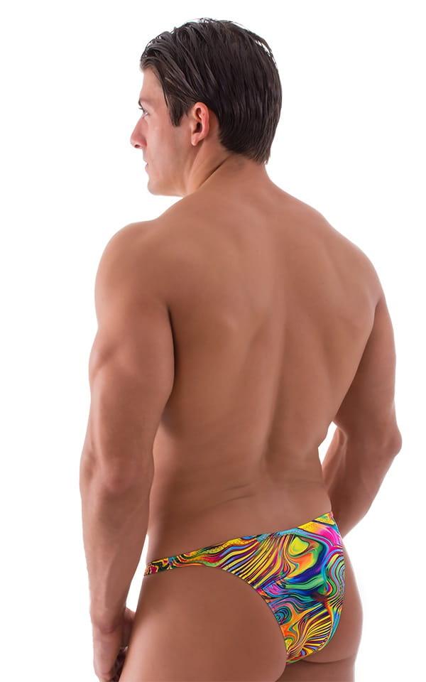 Rio Tanning Bikini Swimsuit in ThinSKINZ Neon Dali 2