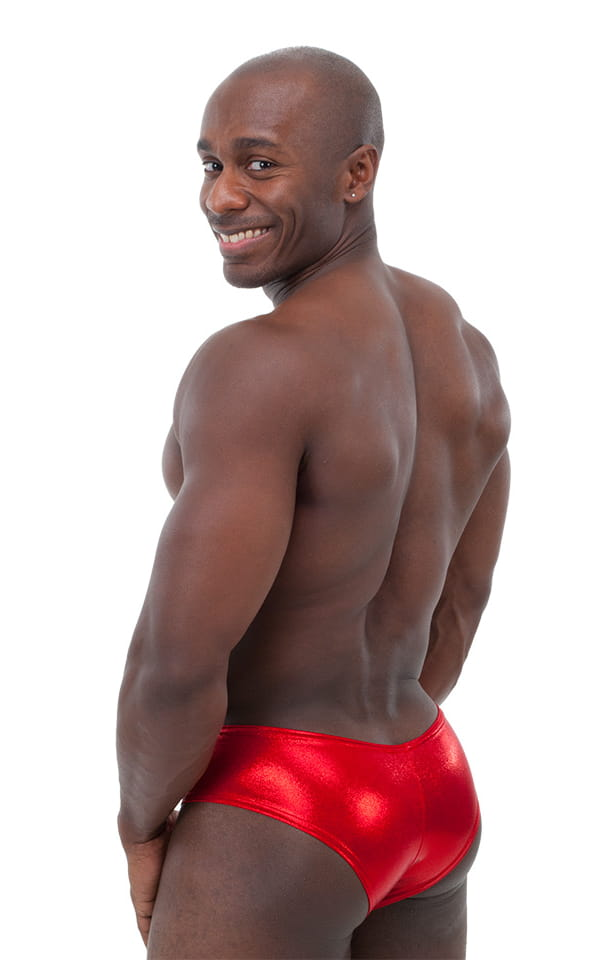 Hot Pants - Sexy Short Shorts in Mystique Volcano Red by Skinz