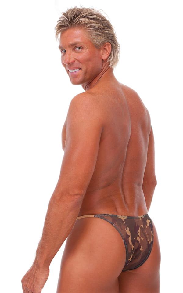 7b8702779d4b Skinny Side Half Back Swim Suit in Semi Sheer Camo Mesh | Skinzwear.com