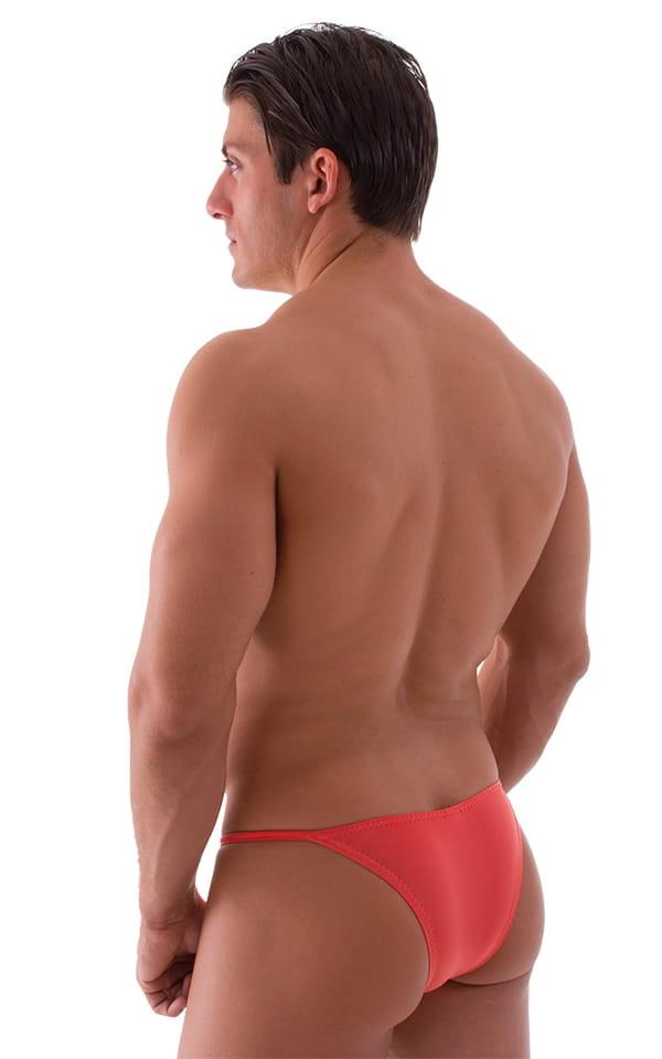 Super Low Brazilian Bikini in Semi Sheer ThinSKINZ Apricot 3