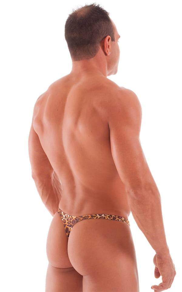 Mens erotic t back thong and have