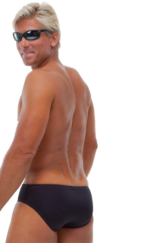 Riviera Swim Suit Brief in Black 3