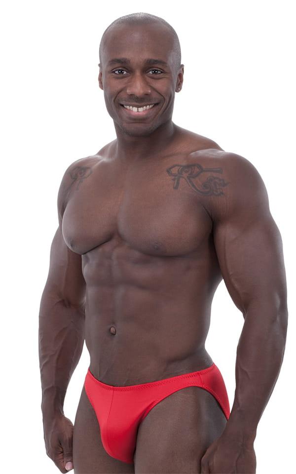 Bikini-Brief Swimsuit in Red 1
