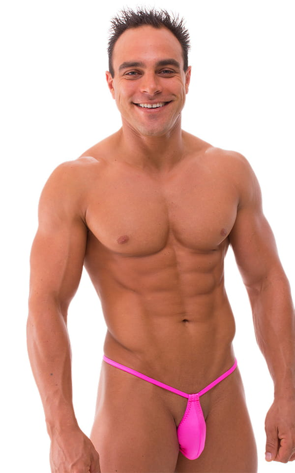 Mens neon gstring swimsuit