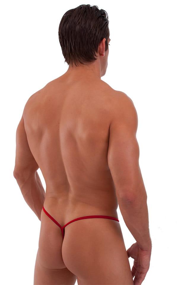 Roman G String Swim Thong in ThinSKINZ Red 7