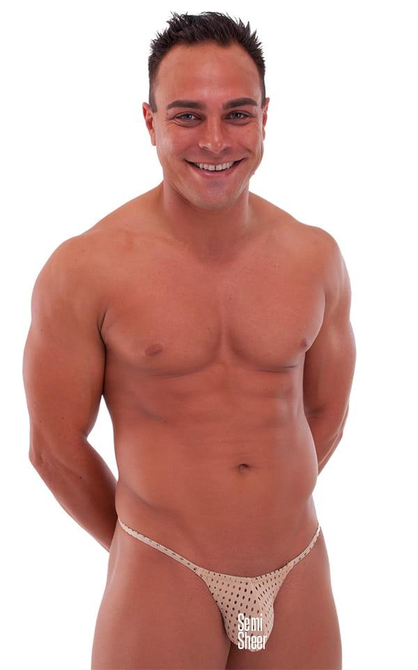 Sunseeker Micro Pouch Half Back Bikini in Super ThinSKINZ
