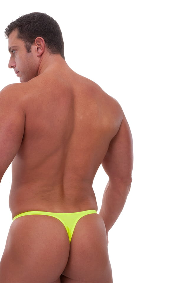 Swimsuit Thong in Chartreuse 3
