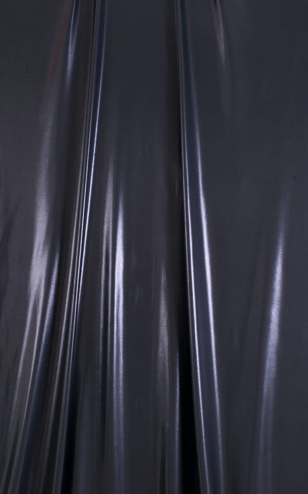 One Piece Zipper in Black Ice Fabric