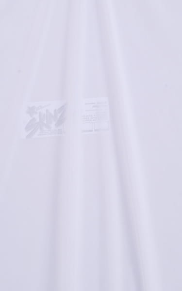 Maximum Tanning Triangle Top in Semi Sheer ThinSKINZ White Fabric