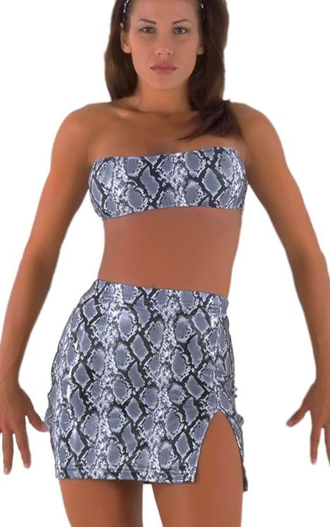 Split Mini Skirt 4