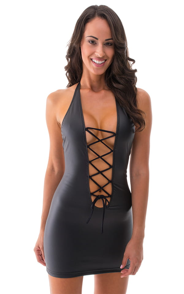 Sexy-Dresses:-Lace-Up Front