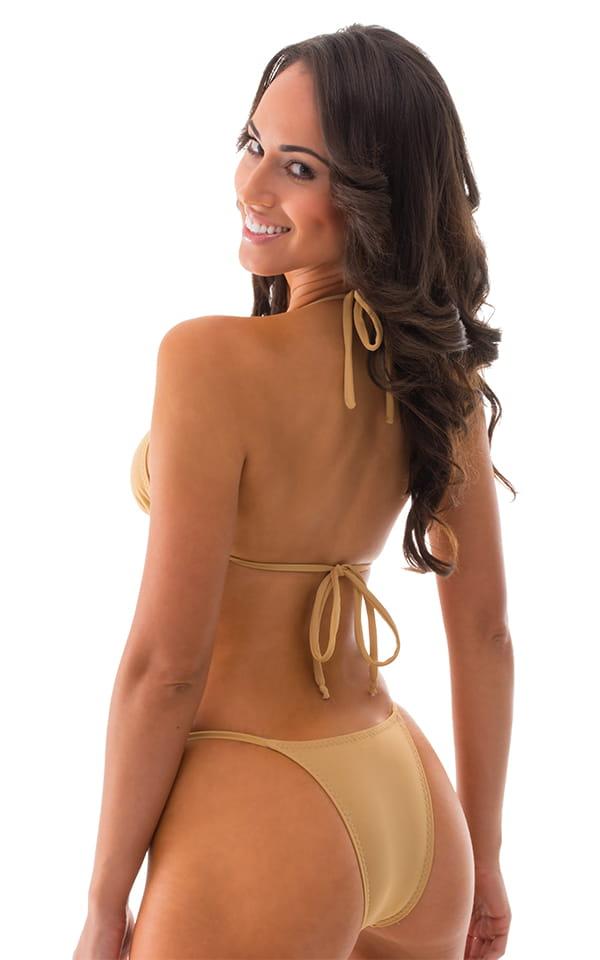 Brazilian Triangle Swim Top Swimtop in Nude 3