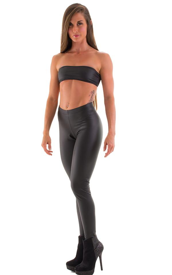 Womens Leggings - Fashion Tights in Super Stretch Vinyl/Lycra by Skinz