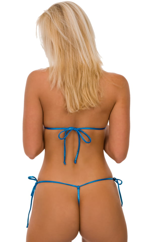 Bikini string thong tie