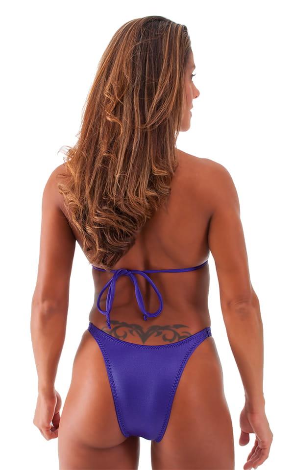 Womens Posing Suit Narrow Back in Royal Purple 3