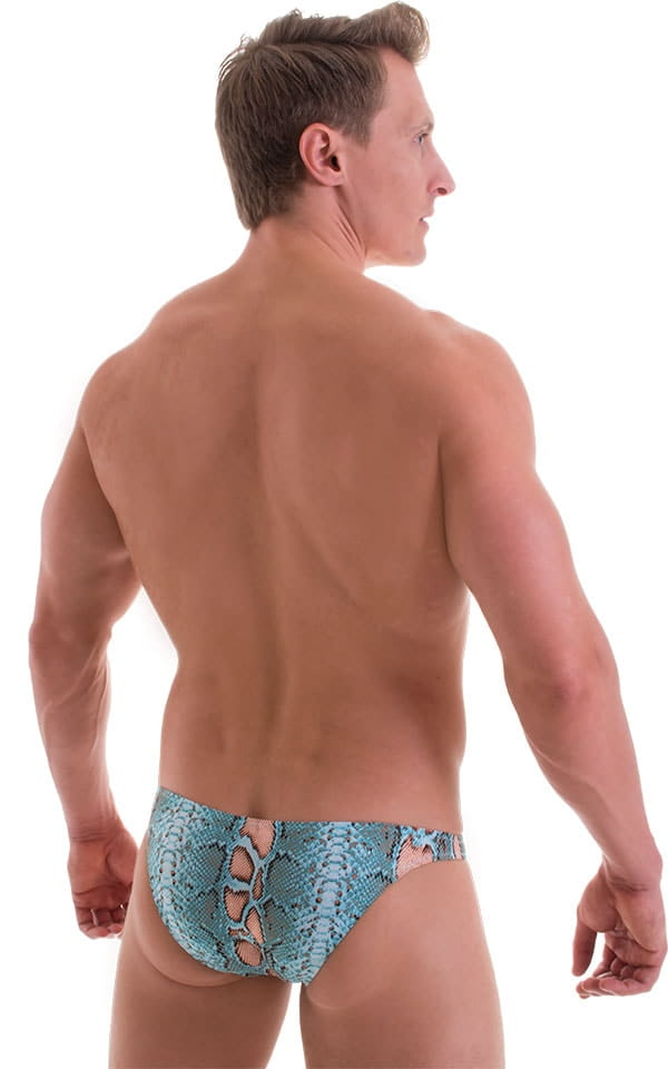 Enhancing Pouch Swim Brief in ThinSKINZ Aqua Python 3