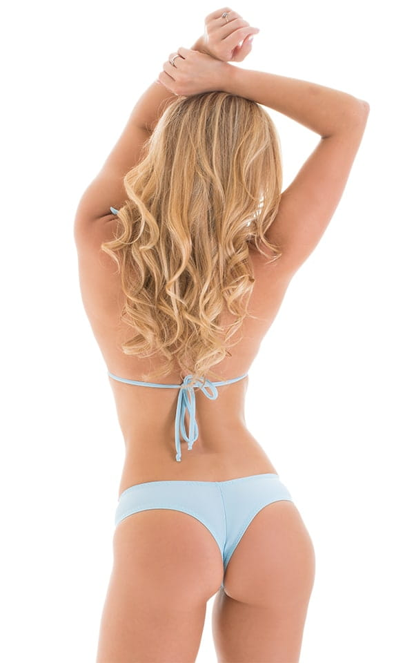 Cheeky Booty Shorts in Baby Blue 4
