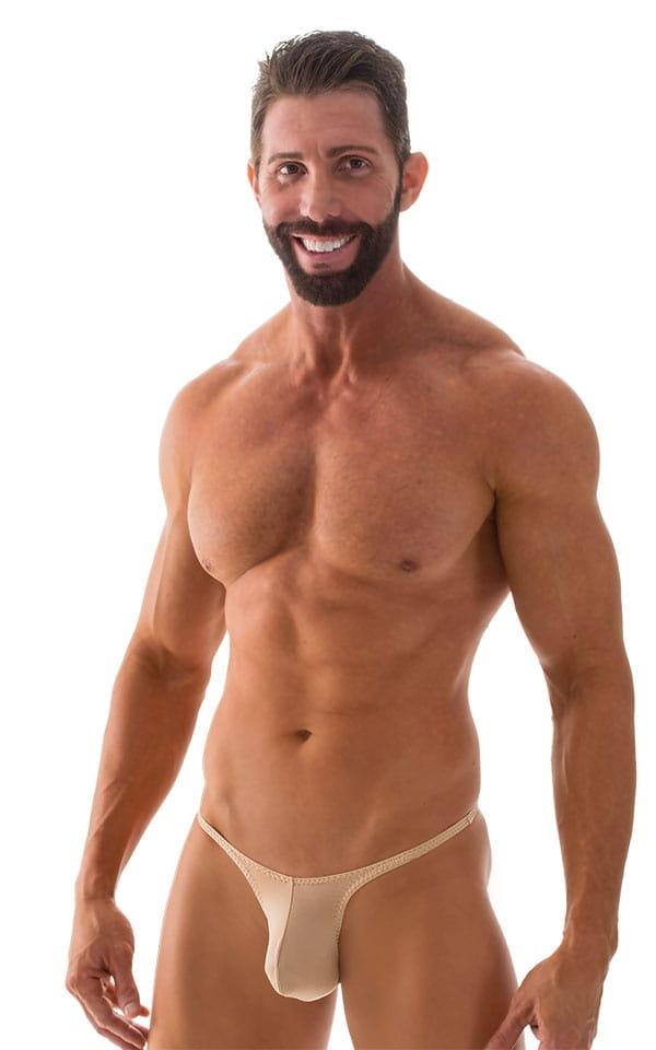 Sunseeker Micro Pouch Half Back Bikini in ThinSKINZ Nude 5