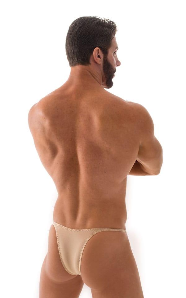 Sunseeker Micro Pouch Half Back Bikini in ThinSKINZ Nude 6