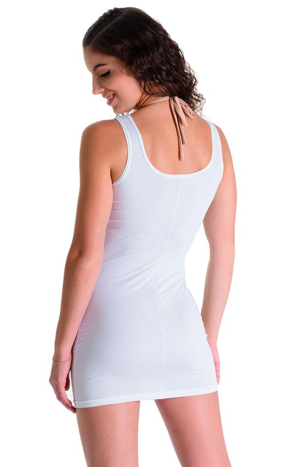 Mini Dress in Super ThinSKINZ White 2