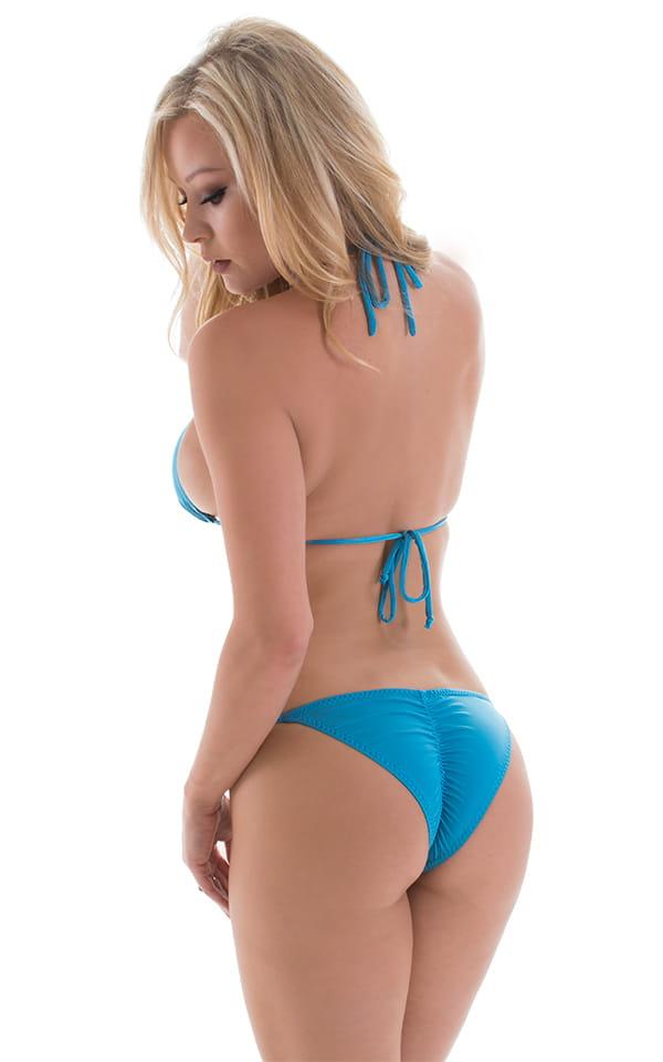 Brazilian Pucker Butt Bikini in ThinSKINZ Sapphire 3