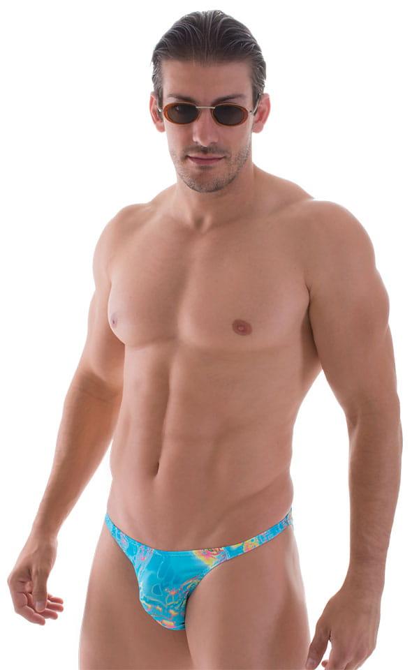Smooth Front Bikini in Vapor Wave Teal 1