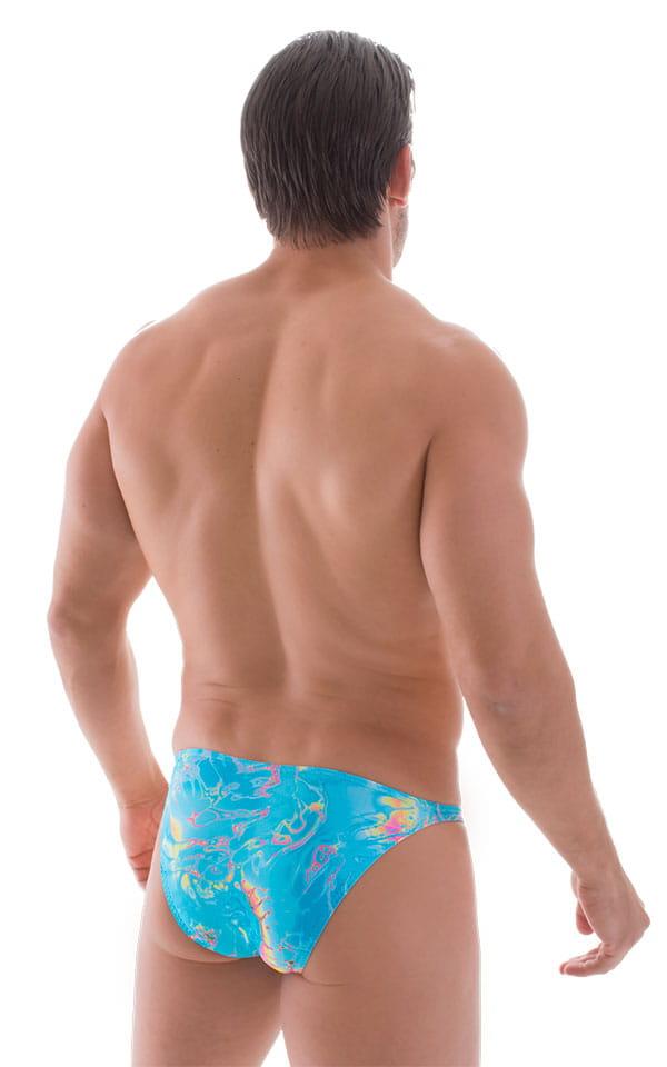 Smooth Front Bikini in Vapor Wave Teal 3