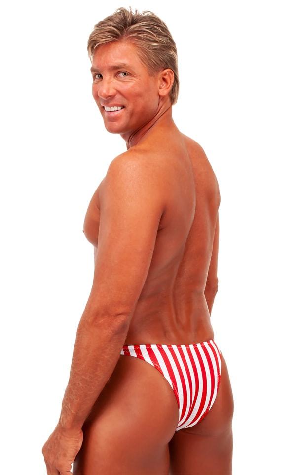 Rio Tanning Bikini Swimsuit in Stars and Stripes Tricot nylon/lycra 3