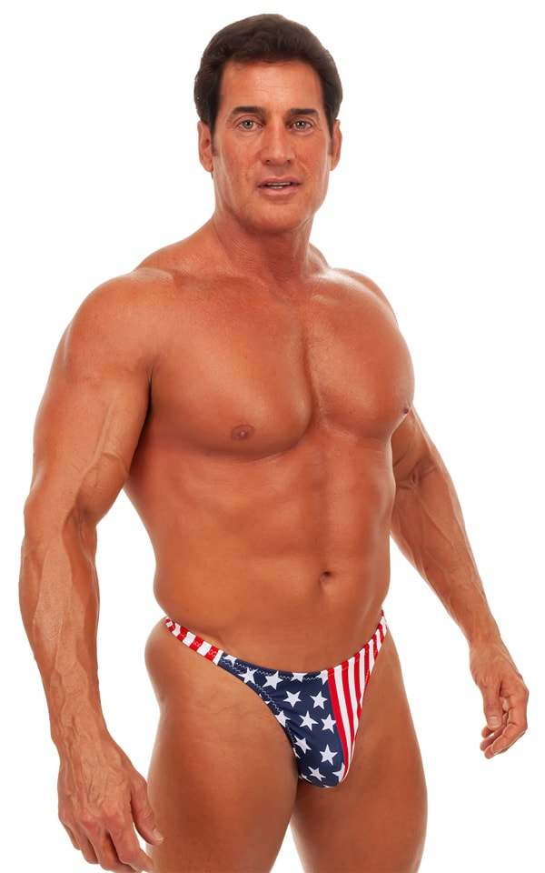 Swimsuit Thong in Stars and Stripes 1