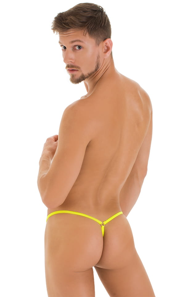 e77e399a83 G String Swimsuit - Adjustable Pouch in Super ThinSKINZ Neon Riot ...